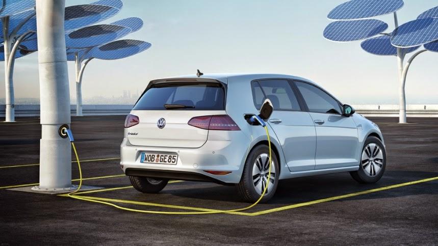 El coche eléctrico e-Golf