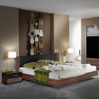 habitación chocolate