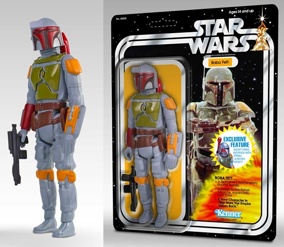 Rocket Firing Boba Fett 12 Inch Jumbo Vintage Kenner Star Wars Action Figure by Gentle Giant
