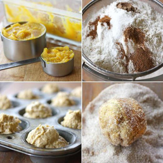 lisa is cooking: Pumpkin Doughnut Muffins