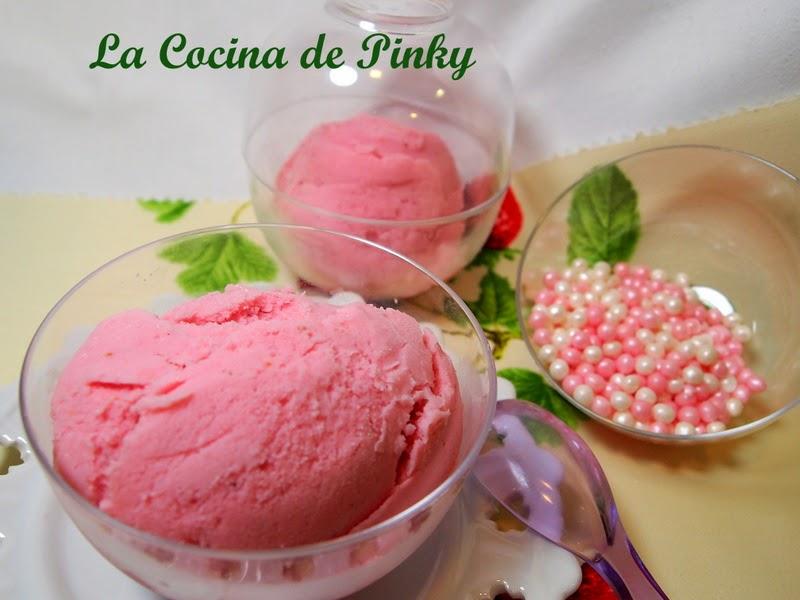 HELADO DE FRESAS Y YOGUR  Helado+de+fresas+y+yogur+1