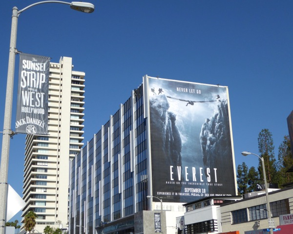 Giant Everest movie billboard