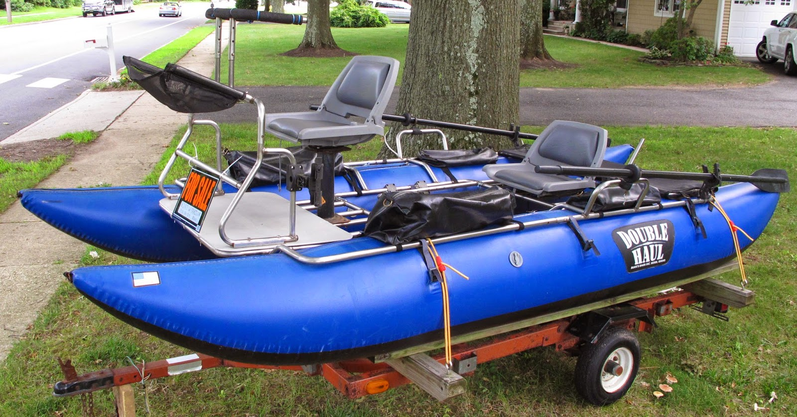 The average angler selling my two person pontoon for Fly fishing pontoon boats