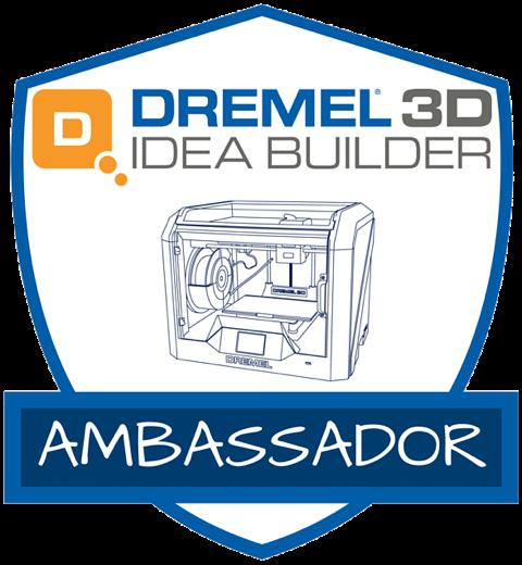 Dremel 3D Idea Builder Ambassador