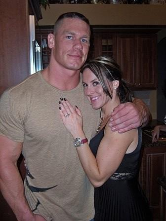 Hot N Cool Mails WWE Supestar John Cena With His Wife