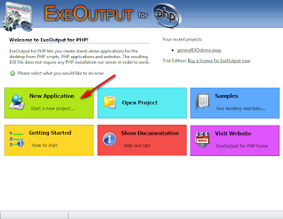 Cara mengubah project PHP menjadi .EXE