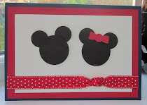 Minnie and Mickey Punch Art