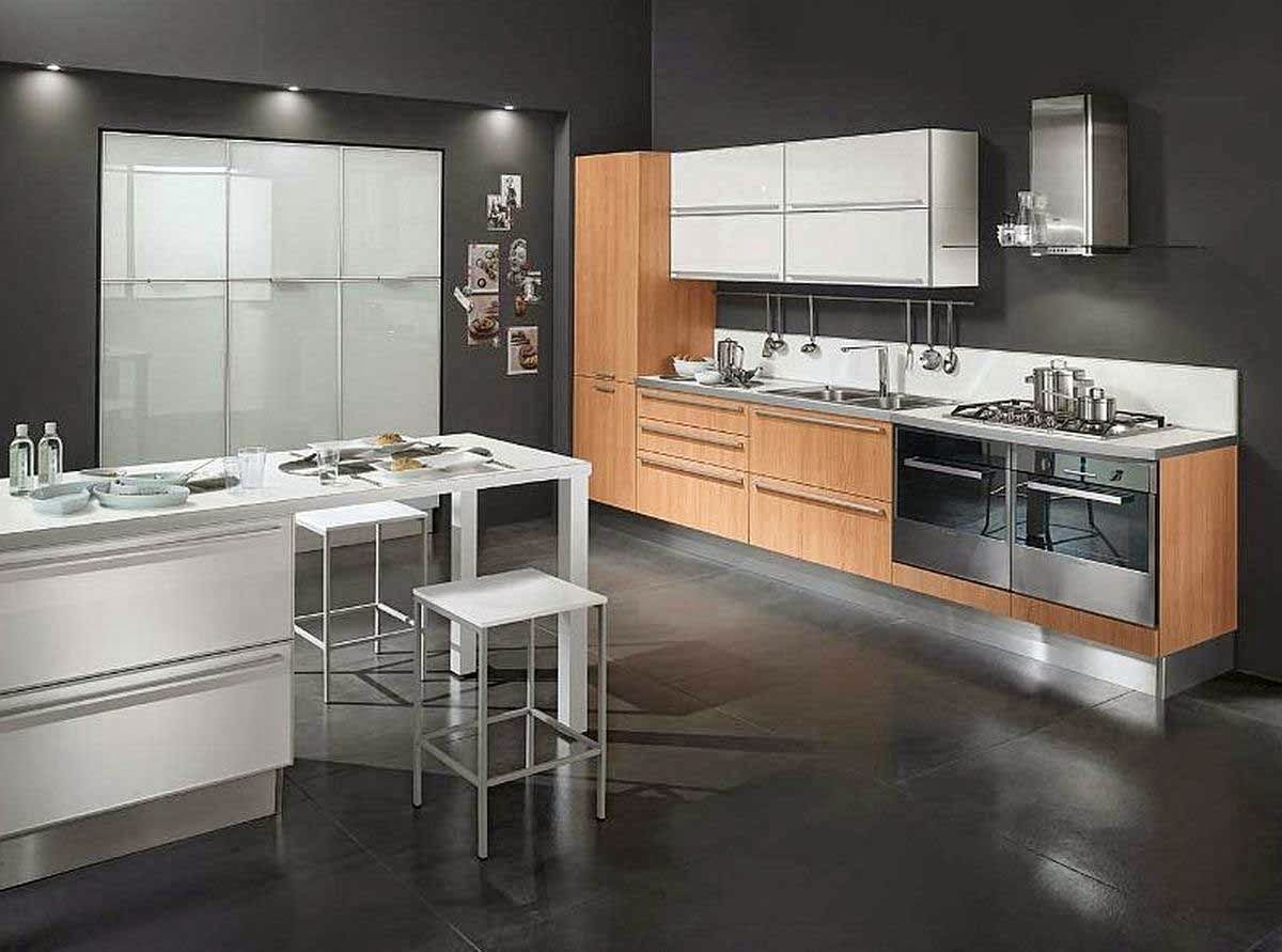 Decorating-kitchen-Minimalist-Luxury-Spatial-Kitchen-Minimalist