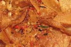 resep praktis (Mudah) makanan khas kering kentang pedas spesial enak, gurih, lezat