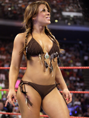 sex boobs hot mickie james