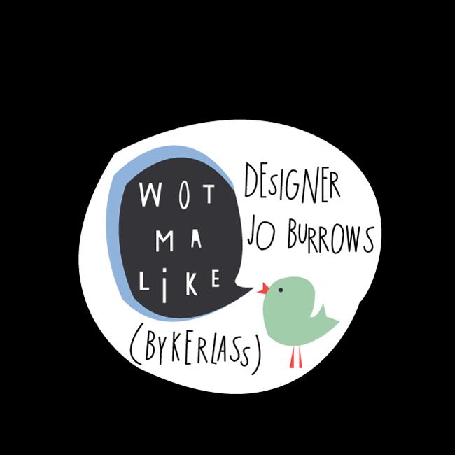 Geordie Cards, Geordie Mugs, Bykerlass New Logo