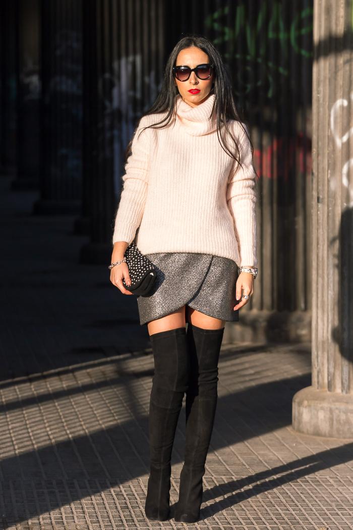Blogger de Valencia con outfit para fiestas Nochebuena