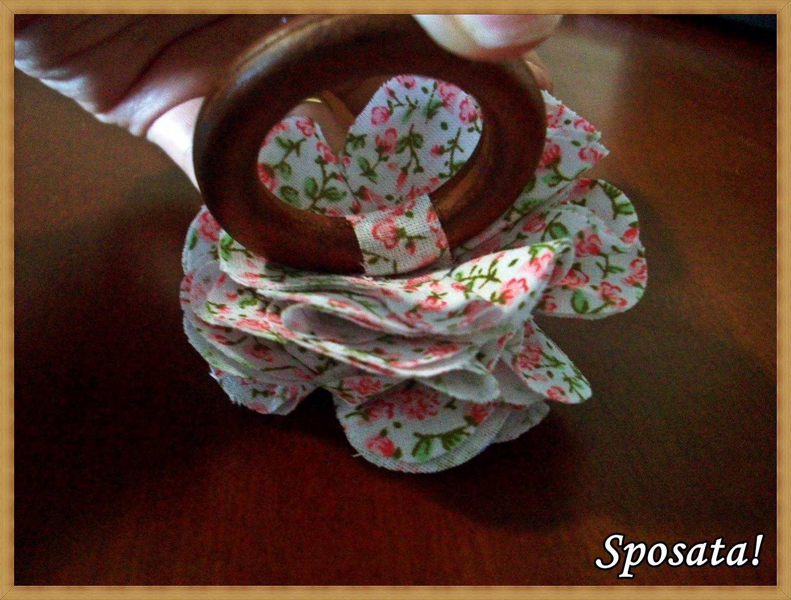 Sposata!: Passo a passo Porta guardanapo de madeira com flor de  #32160C 1600x1215