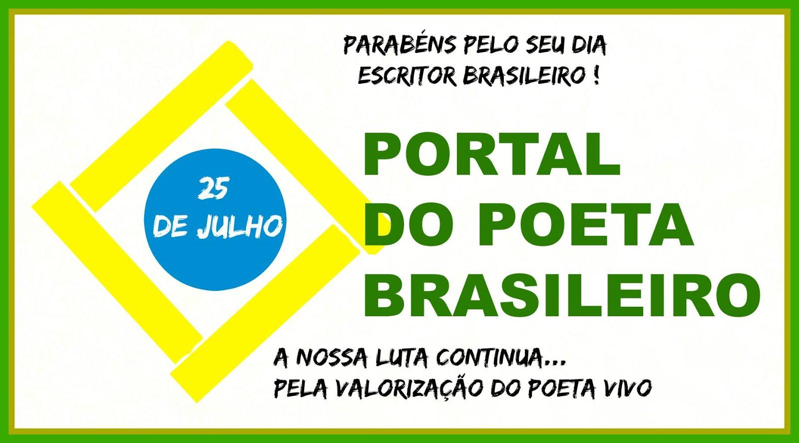 25 DE JULHO DIA DO POETA