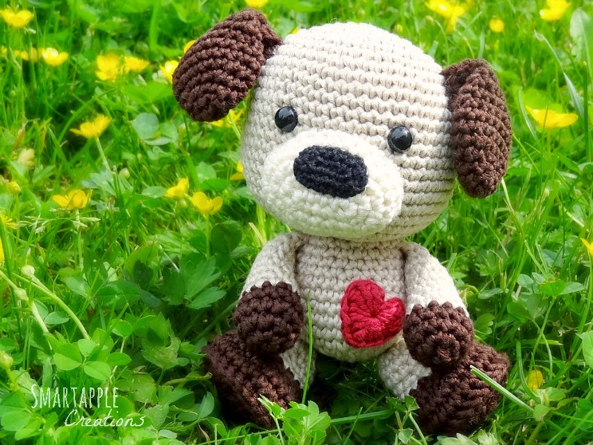 Amigurumi Pug Dog Pattern : Smartapple Creations - amigurumi and crochet: Amigurumi puppy