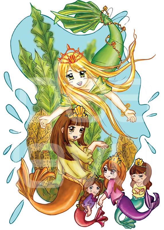 Artikel Tentang Gambar Putri Duyung Kartun yang ada di belfend.web.id