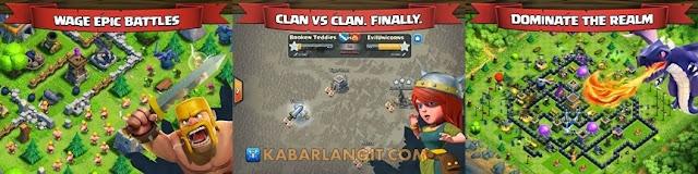 Clash of Clans v7.65.2 Mod Hack APK (Terbatas Emas Tak Terbatas Gems Gelap Elixir) Update Terbaru 2015