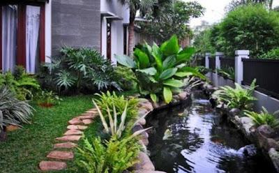 Tukang Taman Kalimantan Koleksi Konsep Kolam ikan
