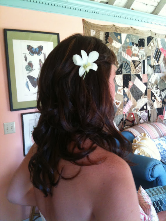 Casual Farmstyle Wedding Hair