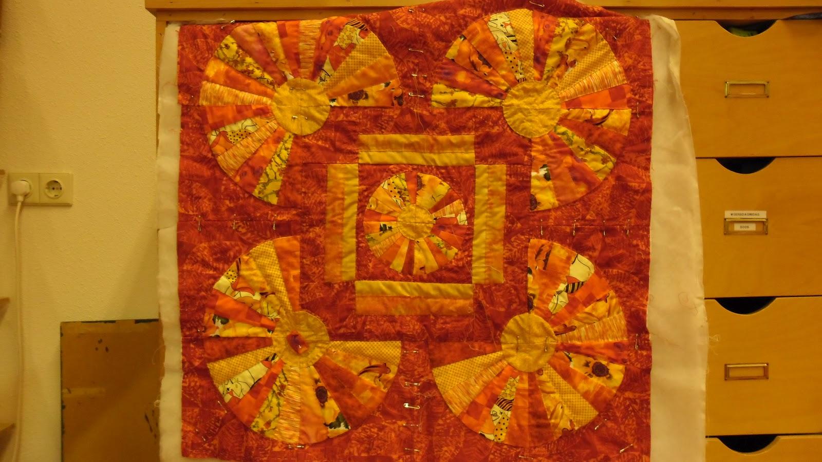 Quilts van kippetje jennie en het tasje - Quilts gele ...