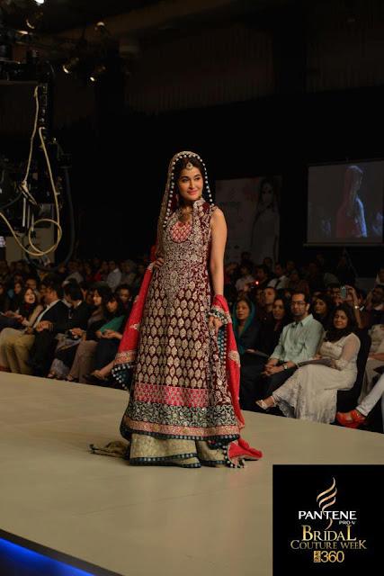 Pakistan Celebrities Pantene Bridal Couture Week 2013 Album 2