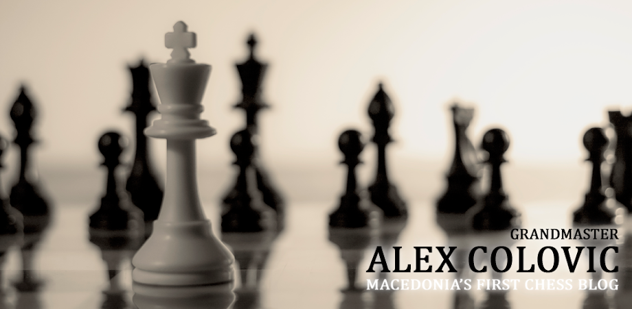 Macedonia's First Chess Blog