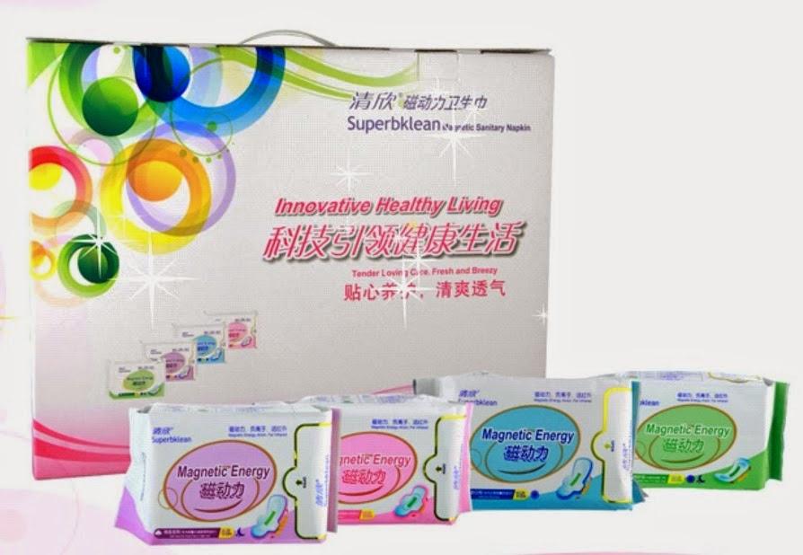 Superbklean Magnetic Sanitary Napkins