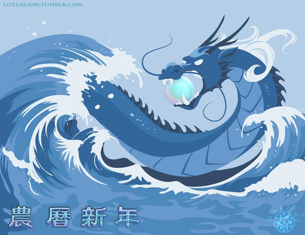 Año del Dragon de Agua