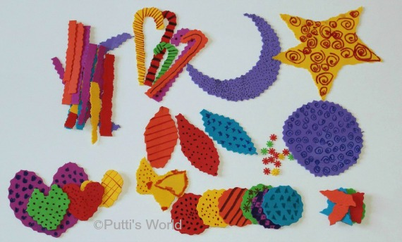 Foam Ornaments Window Kids Craft