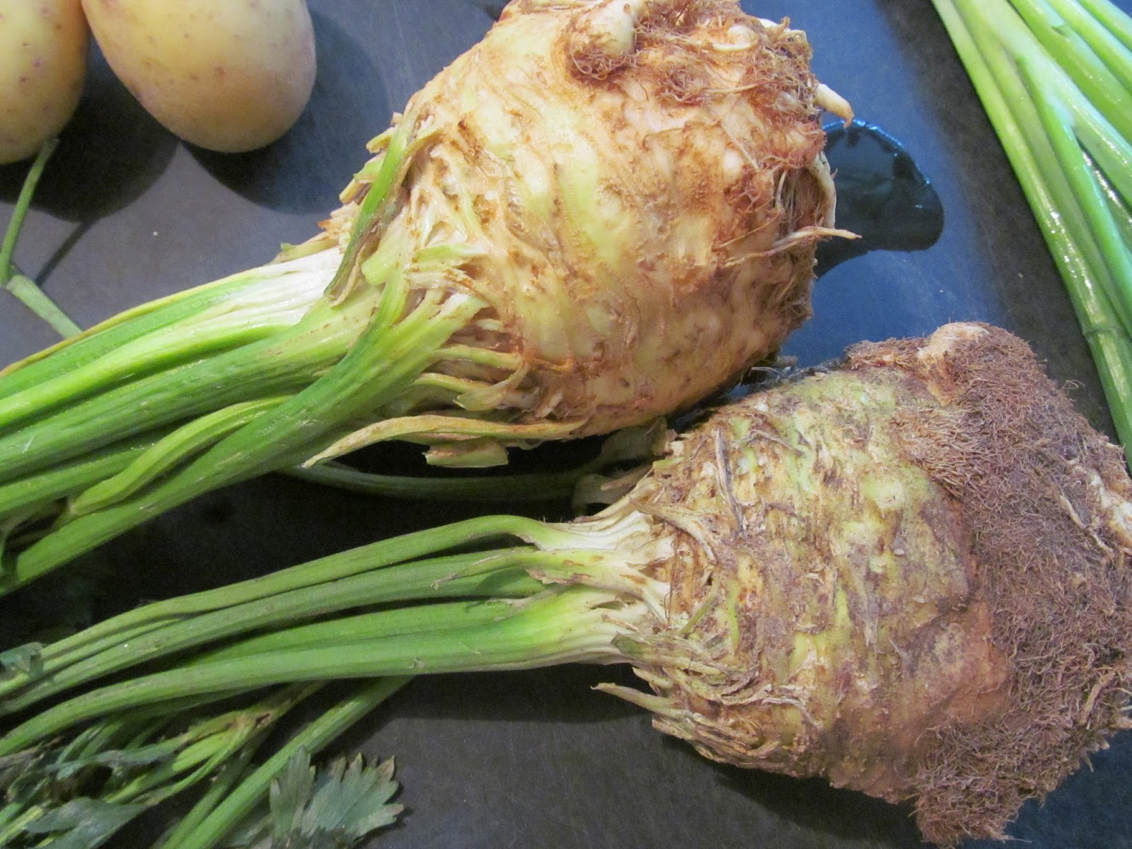 how to tell if celery root is bad