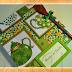 """Livro de Receitas """"Chá Verde com Bolinhas"""" (Cookbook """"Tea with Green Dots"""")"""