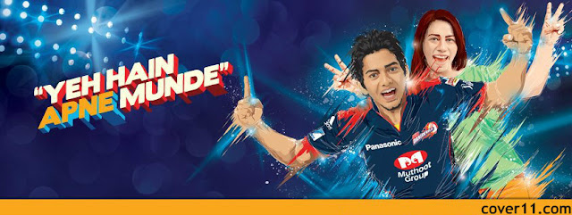 Unmukt Chand Delhi Daredevils Facebook Cover Photos