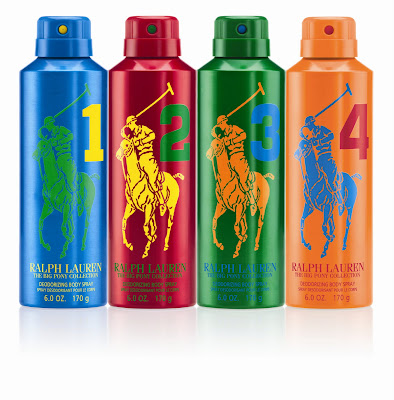"Ralph Lauren lanza en el mes de julio en España unos body sprays de lujo- ""THE BIG PONY COLLECTION"""