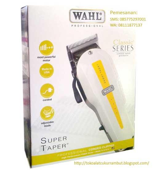 original usa alat pangkas rambut wahl super taper classic series 2259d5709a