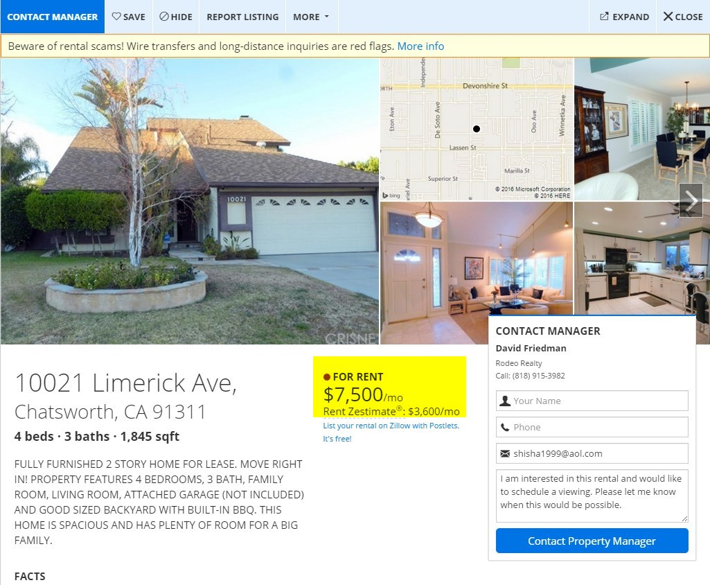 Home Rental Price Gouging in the West SFV? | San Fernando Valley Blog