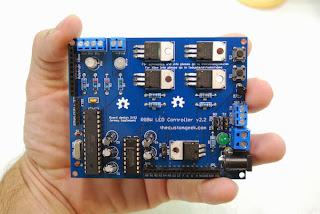 Controlador de fita de LEDs