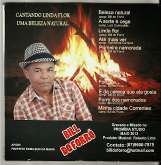 Novo CD de Bill do Forró 2013