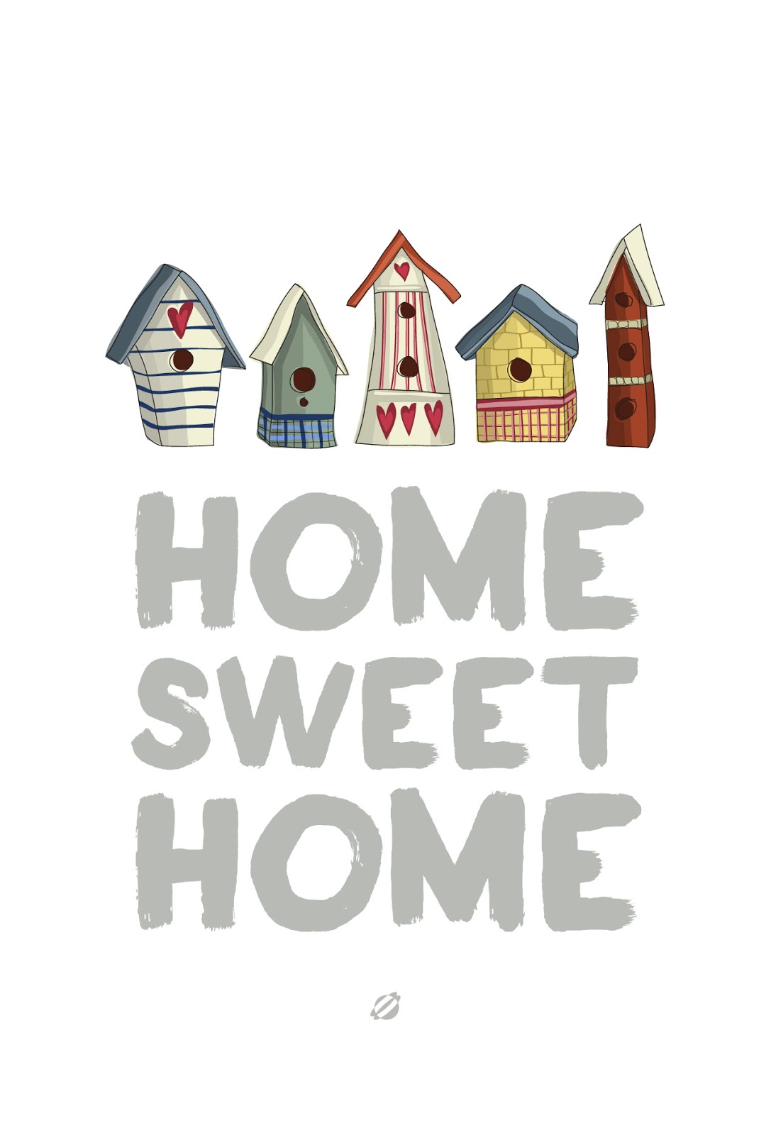 It is a photo of Nerdy Home Sweet Home Printable