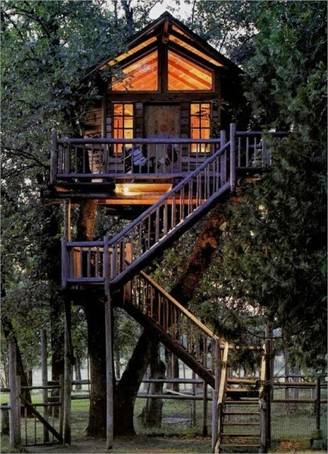 Mindblowing planet earth world 39 s best tree house for Awesome tree house plans