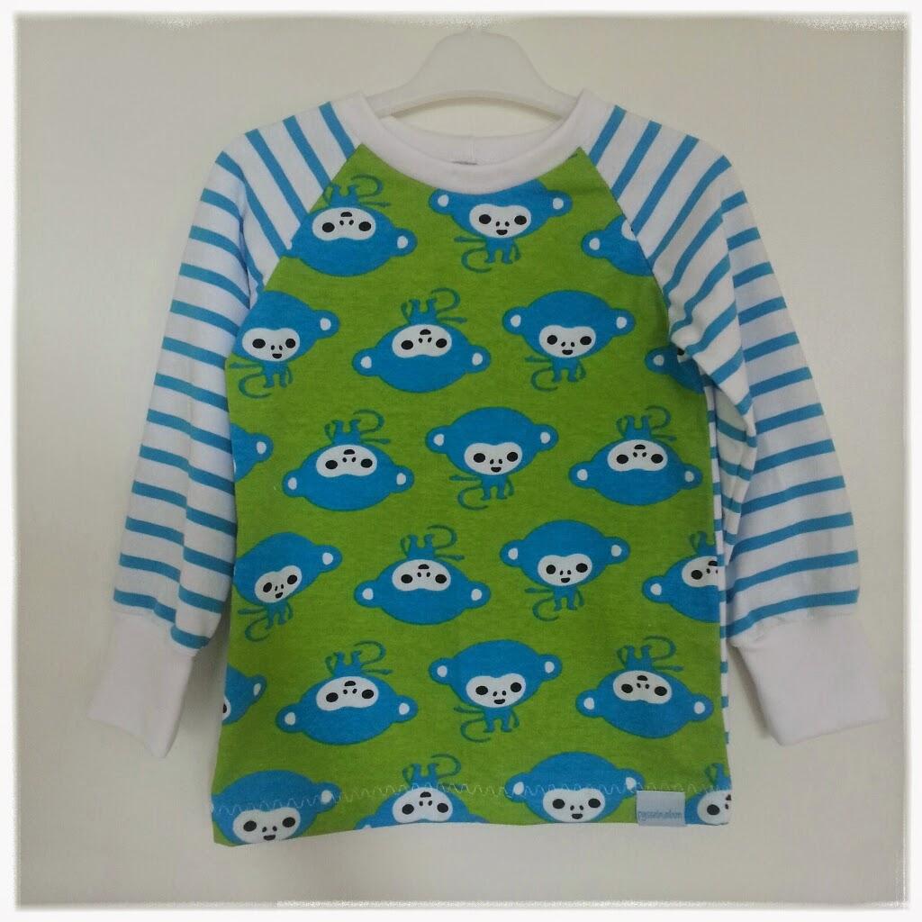 sy raglantröja barnkläder jersey