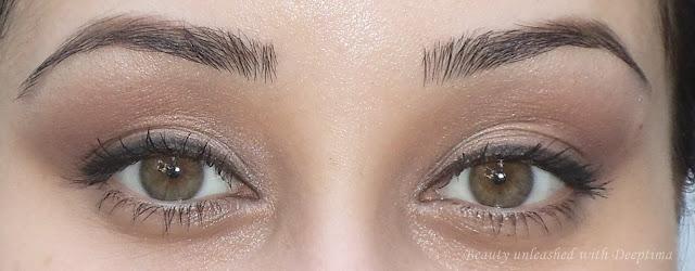 plum eyemakeup