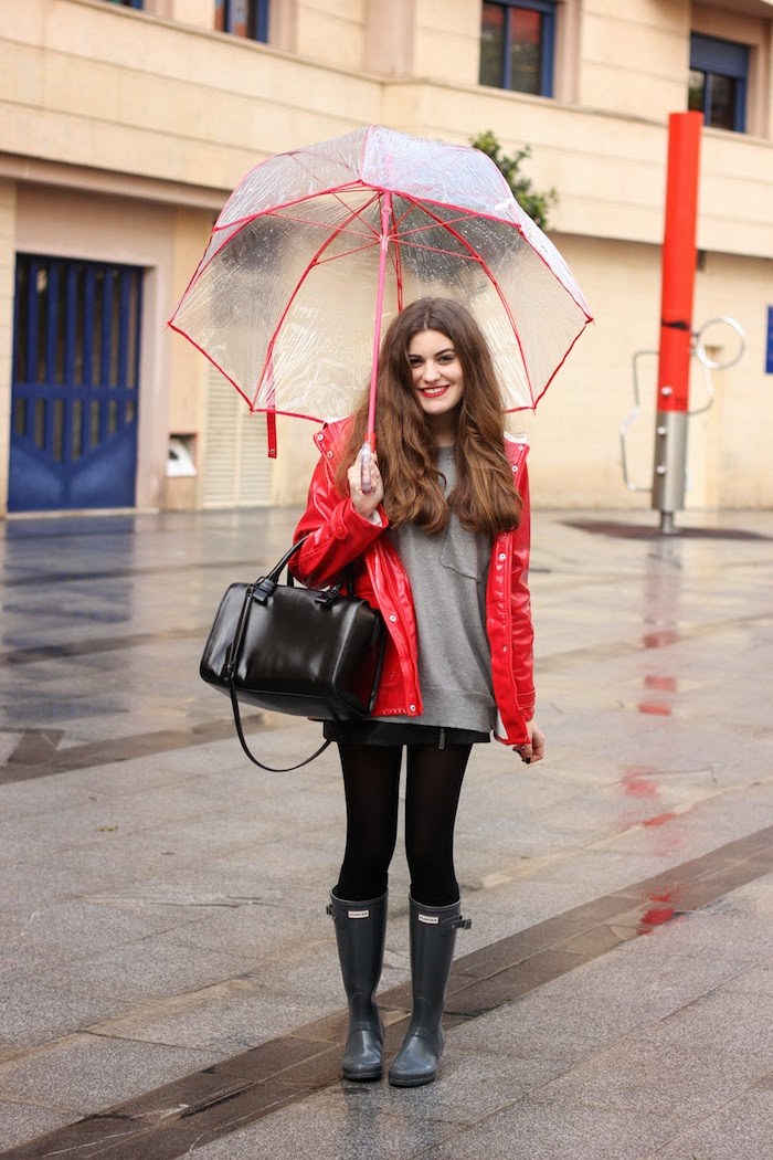 umbrella_look_outfit_chubasquero_pull&bear_hunter_boots_angicupcakes01