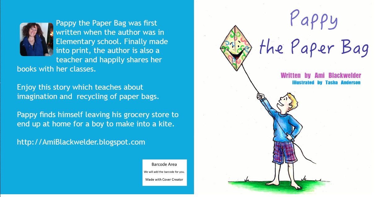 CLICK TO BUY (NEW) 8.5 by 8.5 full color version of Pappy the Paper Bag