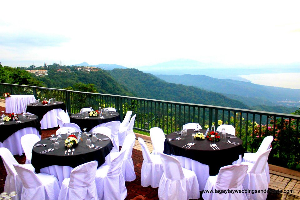 Passion juju more reception venues again for Tagaytay wedding venue