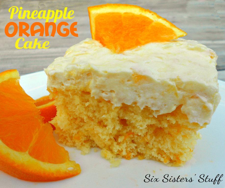Yellow Cake Mix Mandarin Oranges Crushed Pineapple