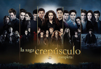 La Saga Crepúsculo completa. Carteles. HITOS DEL CINE. Making Of
