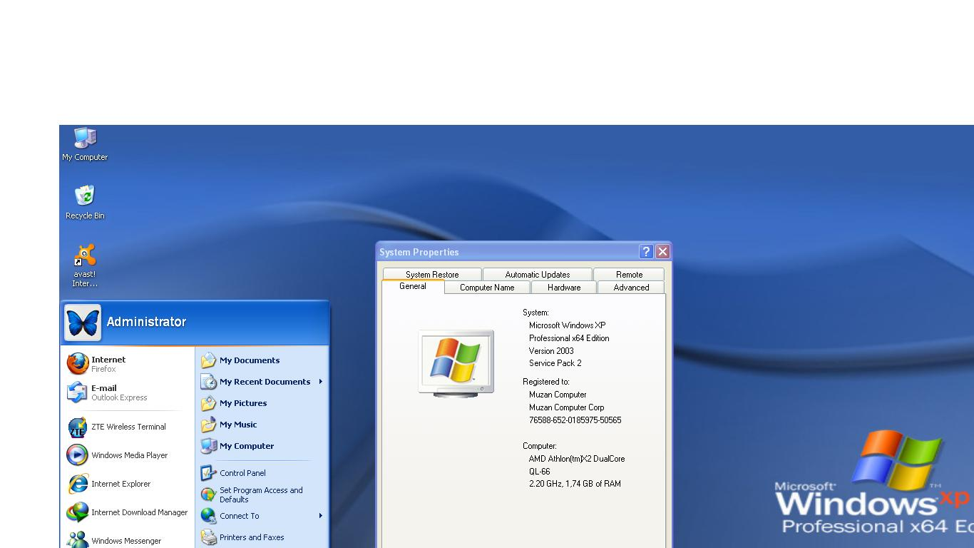windows xp sp3 32 bit