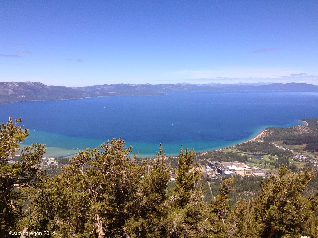 Lake Tahoe from the Heavenly Mountain Observation Deck