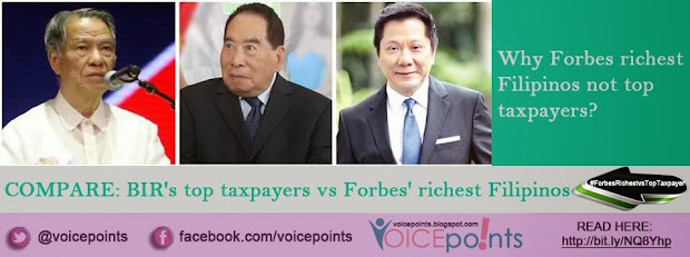 Why Forbes richest Filipinos not top taxpayers?