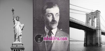 George Parker dan obyek wisata yang sering dijualnya